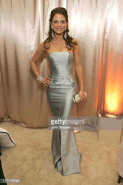 Maria Menounos during MercedesBenz 2006 Oscar Viewing Party at Four Seasons Hotel in Beverly Hills California United States