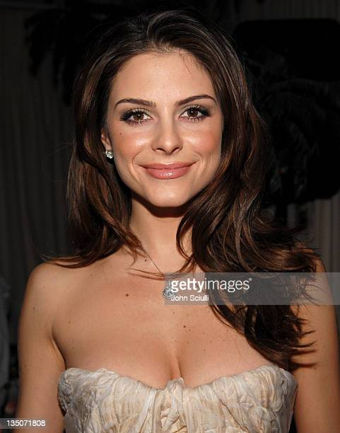 Maria Menounos during Stuart Weitzman at the W Magazine PreGolden Globe Party at Sunset Towers in West Hollywood California United States