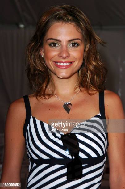 Maria Menounos during The Coach Luncheon to Benefit Peace Games at the Home of Quincy Jones at Quincy Jones' House in Beverly Hills California United...