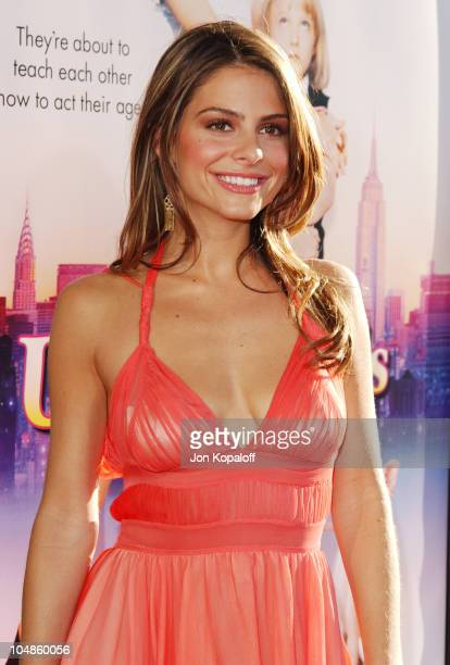Maria Menounos during Uptown Girls Los Angeles Premiere at ArcLight Cinerama Dome in Hollywood California United States