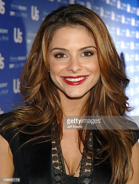 Maria Menounos during US Weekly's Hot Hollywood Fresh 15 Red Carpet and Arrivals at Area in West Hollywood California United States