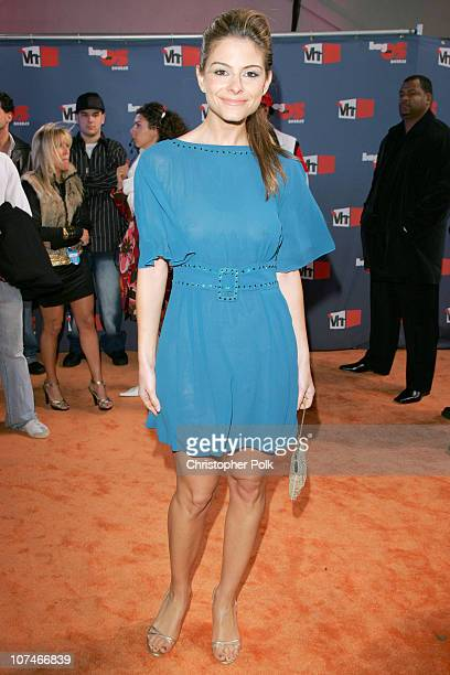 Maria Menounos during VH1 Big in '05 Red Carpet at Sony Studios in Los Angeles California United States