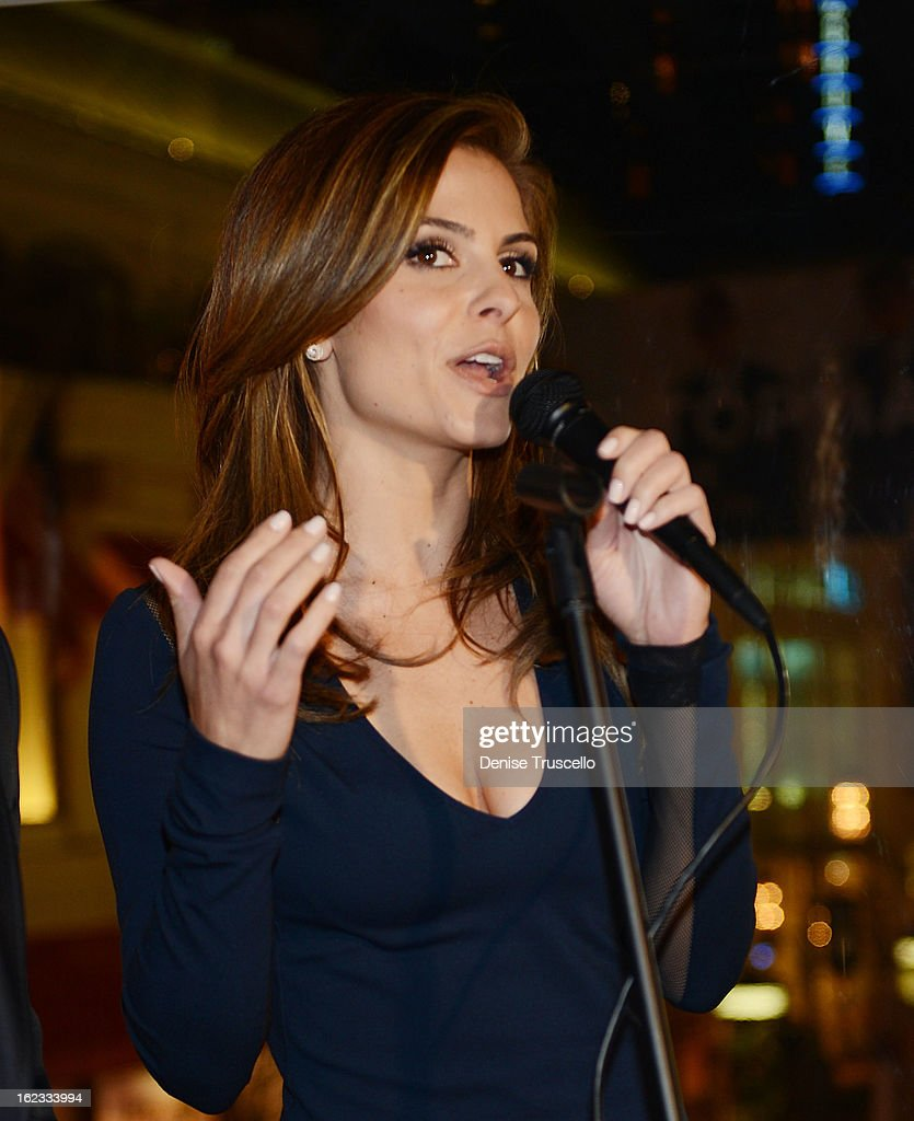 Maria Menounos hosts the Have A Heart benefit for organ donor recipients and their families at Mixology LA at the Farmers Market on February 21, 2013 in Los Angeles, California.