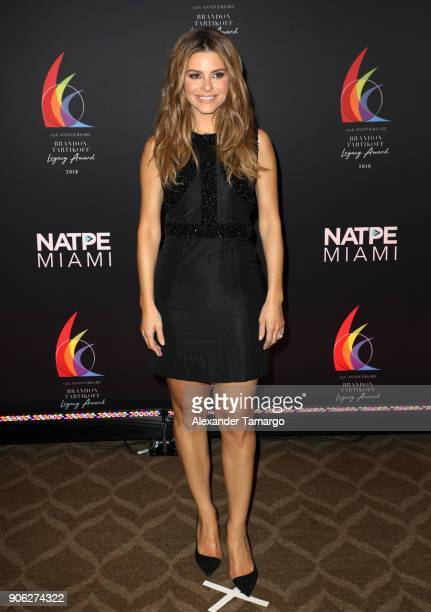 Maria Menounos is seen at the Brandon Tartikoff Legacy Awards at NATPE 2018 at the Fontainebleau Hotel on January 17 2018 in Miami Beach Florida
