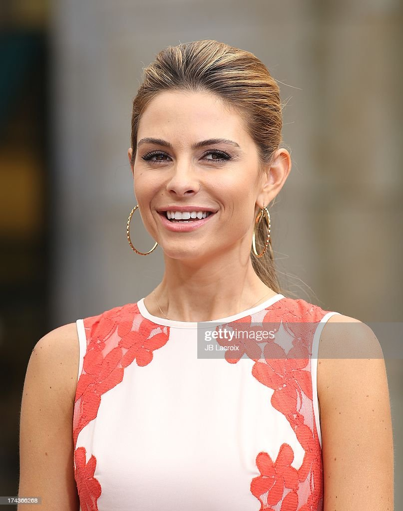 Maria Menounos is seen at The Grove on July 24, 2013 in Los Angeles, California.