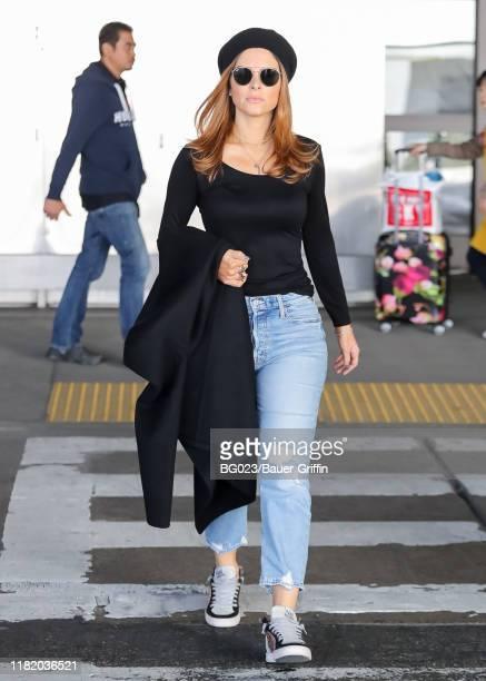 Maria Menounos is seen on November 12, 2019 in Los Angeles, California.