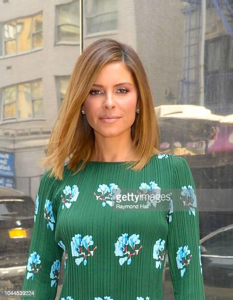 Maria Menounos is seen walking in midtown on October 2 2018 in New York City