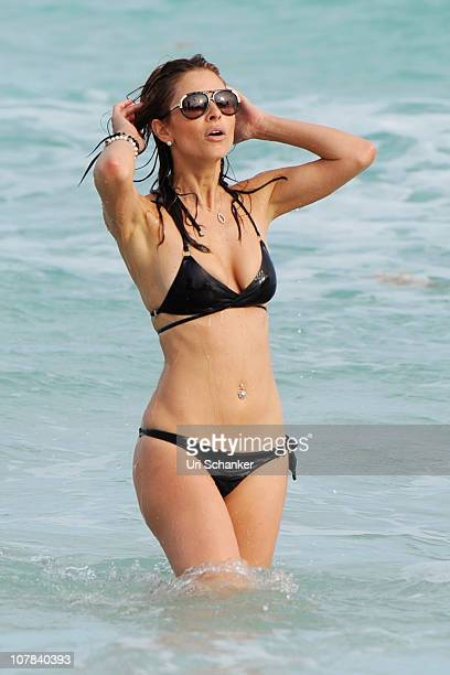 Maria Menounos is sighted on December 31 2010 in Miami Beach Florida