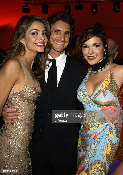 Maria Menounos Lawrence Bender and Laura Elena Harring