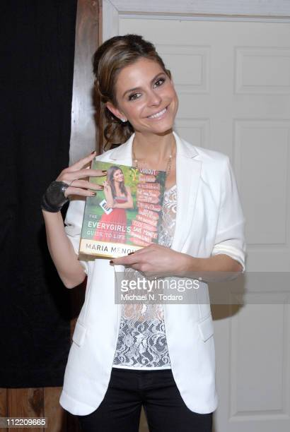 """Maria Menounos promotes her new book """"The Everygirl's Guide To Life"""" at Bookends Bookstore on April 14, 2011 in Ridgewood, New Jersey."""