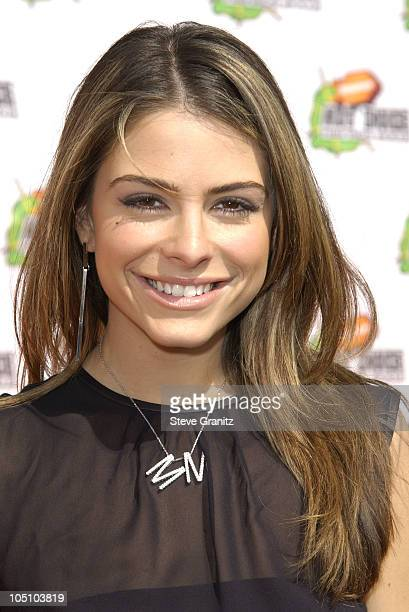 Maria Menudos during Nickelodeon's 16th Annual Kids' Choice Awards 2003 Arrivals at Barker Hanger in Santa Monica California United States