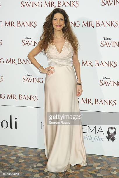 Maria Monse attends the 'Saving Mr Banks' premiere at The Space Moderno on February 6 2014 in Rome Italy