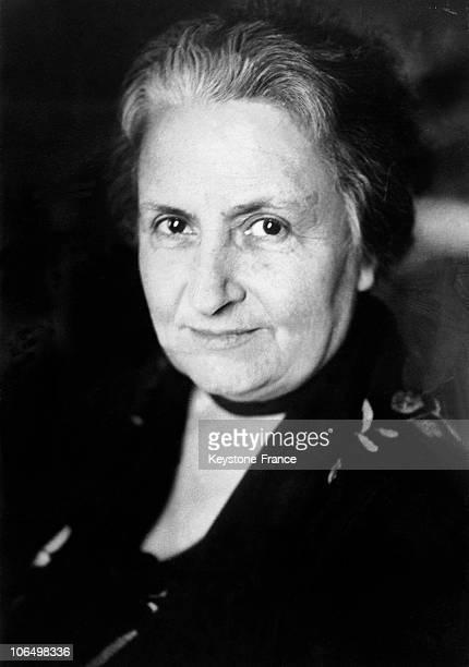 Maria Montessori To 1948