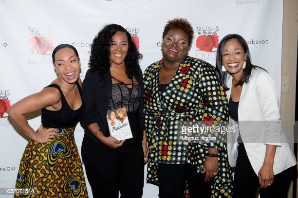 Maria More Miko Branch Aisha Taylor Issah and Nicole Carr attend the 2018 Sistahs in Business Expo at Dekalb Conference Center on October 13 2018 in...