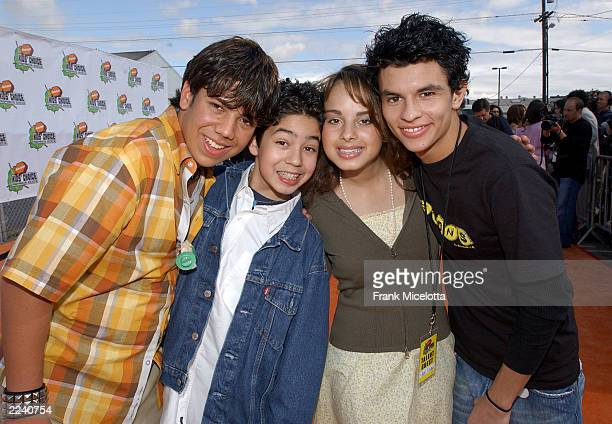 Maria N Menounos attend Nickelodeon's 16th Annual Kid's Choice Awards at the Barker Hangar April 12 2003 in Santa Monica California