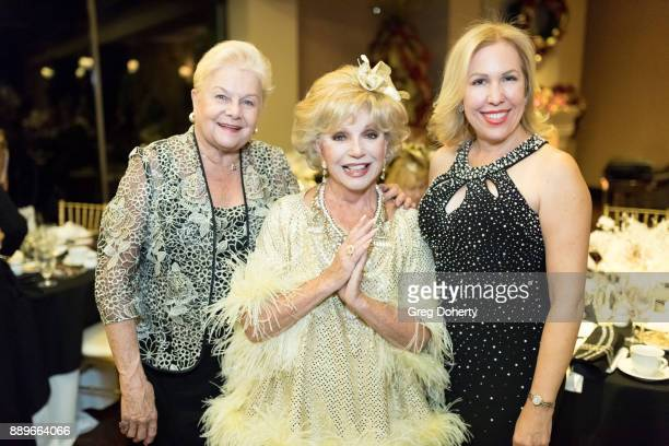 Maria Nabiskas Actress Ruta Lee and Diva Naparette attend The Thalians Hollywood for Mental Health Holiday Party 2017 at the Bel Air Country Club on...
