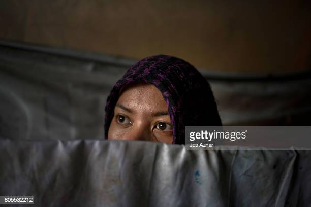 Maria not her real name agreed to have her photo taken in an undisclosed location on June 28 2017 in Manila Philippines Maria witnessed the killing...