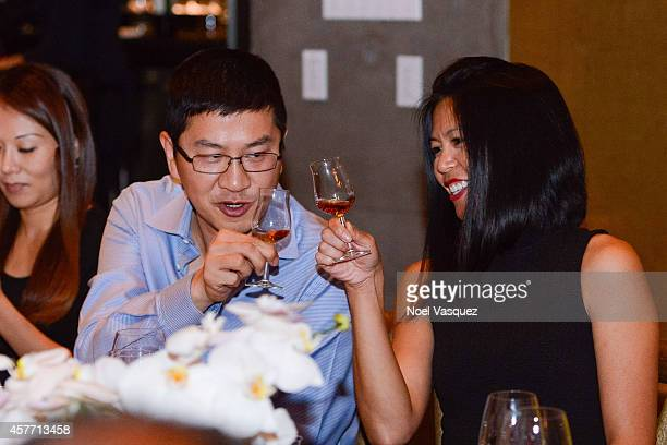 Maria O'Connor attends Maurice Hennessy private tasting and dinner at AnQi Gourmet Bistro & Noodle Bar on October 22, 2014 in Costa Mesa, California.