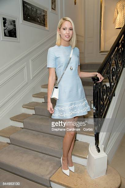 Maria Olympia of Greece attends the Christian Dior Haute Couture Fall/Winter 20162017 show as part of Paris Fashion Week on July 4 2016 in Paris...