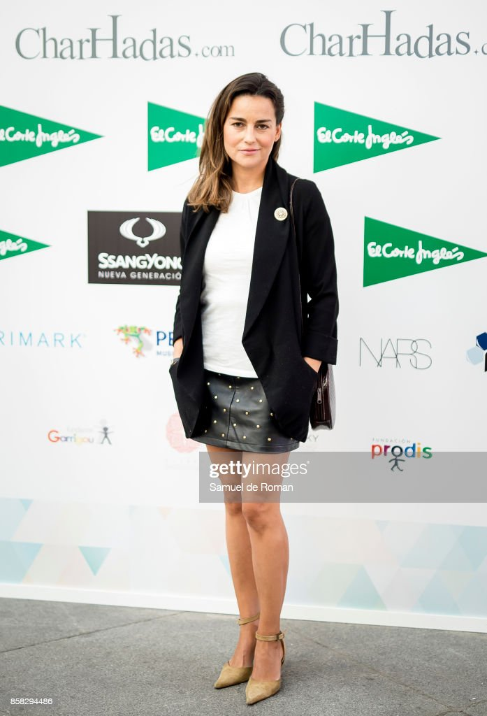 Maria Palacios during 'The Petite Fashion Week' Photocall in Madrid on October 6, 2017 in Madrid, Spain.