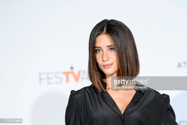 Maria Pedraza attends 'Toy Boy' photocall at Palacio de Congresos during FesTVal 2019 on September 06 2019 in VitoriaGasteiz Spain