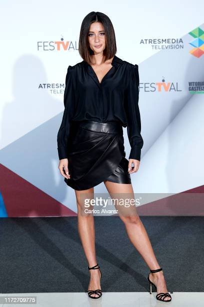 Maria Pedraza attends 'Toy Boy' photocall at Palacio de Congresos Europa on September 06 2019 in VitoriaGasteiz Spain
