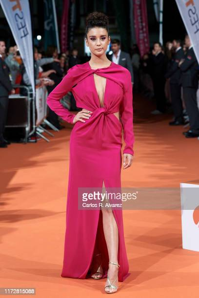 Maria Pedraza attends 'Toy Boy' premiere at Teatro Principal on September 06 2019 in VitoriaGasteiz Spain