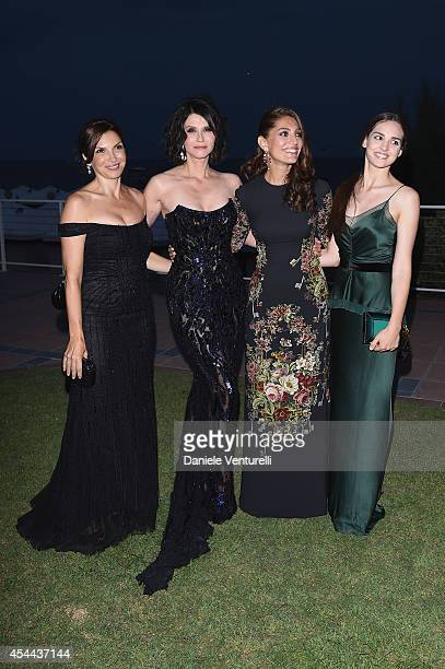 Maria Pia Calzone Alessandra Martines Caterina Murino and Sara Serraiocco attend the Kineo Award during the 71st Venice Film Festival on August 31...