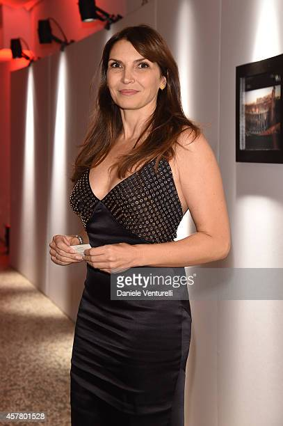 Maria Pia Calzone attends the Gala Dinner 'La Grande Bellezza' during the 9th Rome Film Festival on October 24 2014 in Rome Italy