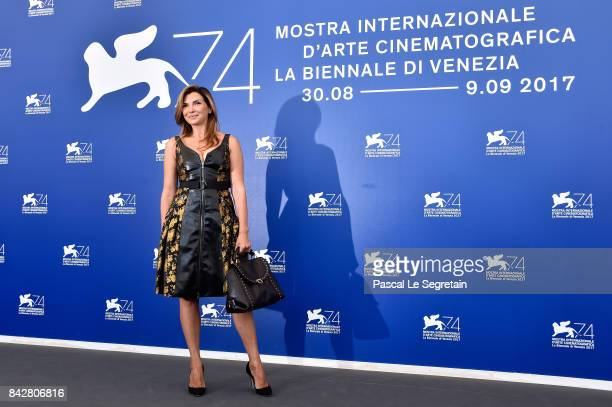 Maria Pia Calzone attends the 'Gatta Cenerentola' photocall during the 74th Venice Film Festival at Sala Casino on September 5 2017 in Venice Italy