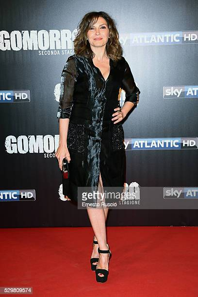 Maria Pia Calzone attends the 'Gomorra' Tv Show premiere at Teatro Dell'Opera on May 09 2016 in Rome