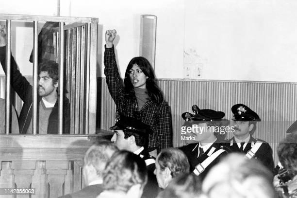 Maria Pia Vianale. Nap Trial. 1976.