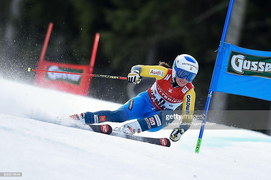 Maria Pietilae-holmner of Sweden competes during the Audi FIS Alpine Ski World Cup Women's Giant Slalom on December 27, 2016 in Semmering, Austria