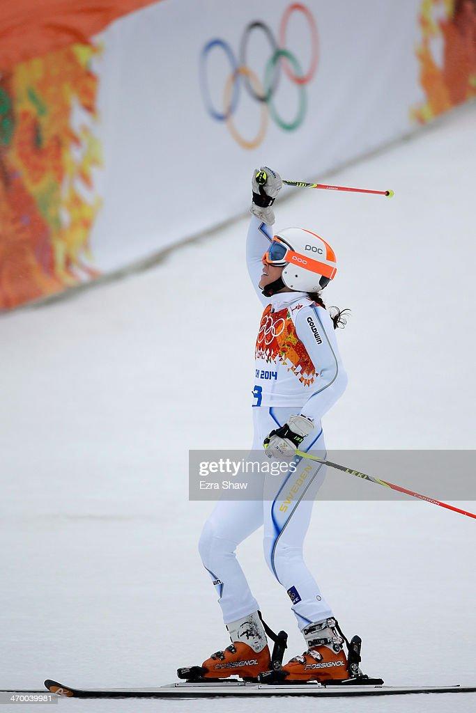 Alpine Skiing - Winter Olympics Day 11