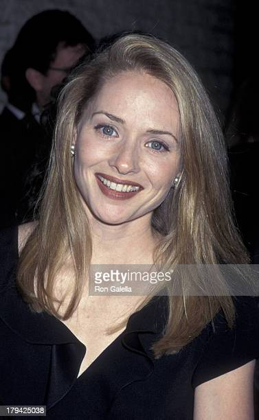 Maria Pitillo Attends The World Premiere Of Bye Bye Love On March 8 1995