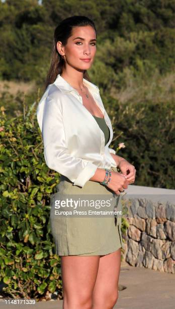 Maria Pombo attends Calzedonia Summer Show 2019 at Hotel Destino Ibiza on May 09 2019 in Ibiza Spain