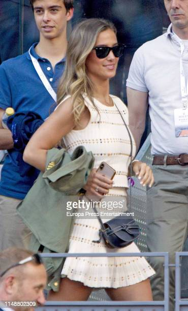 Maria Pombo attends Mutua Madrid Open at Caja Magica on May 11 2019 in Madrid Spain