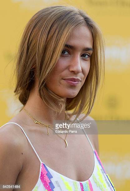 Maria Pombo attends the 'Clicquot Summer Fest' photocall at La Zarzuela racecourse on June 23 2016 in Madrid Spain