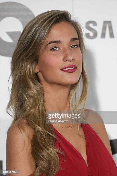 Maria Pombo attends the GQ 2014 Men of the Year awards at the Palace Hotel on November 3 2014 in Madrid Spain