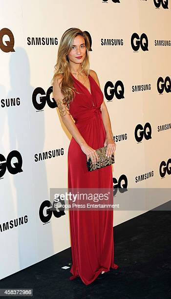 Maria Pombo attends the 'GQ Men Of The Year awards 2014' at Palace hotel on November 3 2014 in Madrid Spain