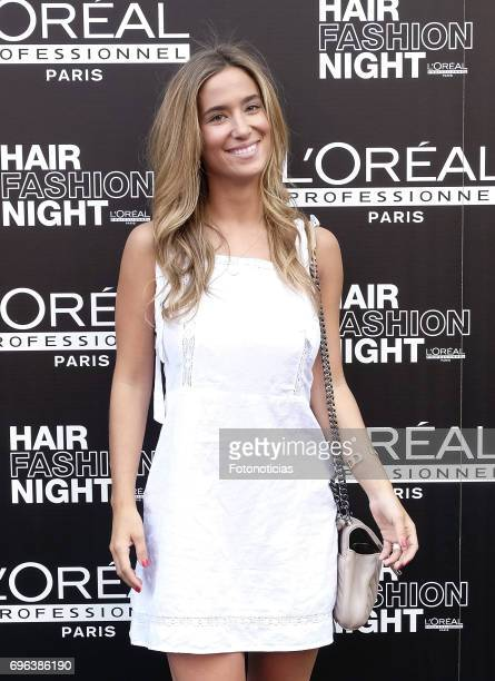 Maria Pombo attends the Hair Fashion Night photocall at Callao cinema on June 15 2017 in Madrid Spain