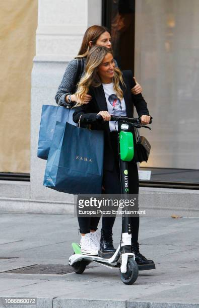 Maria Pombo is seen on October 18 2018 in Madrid Spain