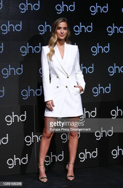 Maria Pombo presents GHD Christmas campaign at Harley Ventas Space on November 8, 2018 in Madrid, Spain.