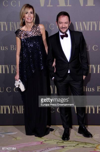 Maria Porto attends the gala 'Vanity Fair Personality of the Year' to Garbine Muguruza at Ritz Hotel on November 21 2017 in Madrid Spain