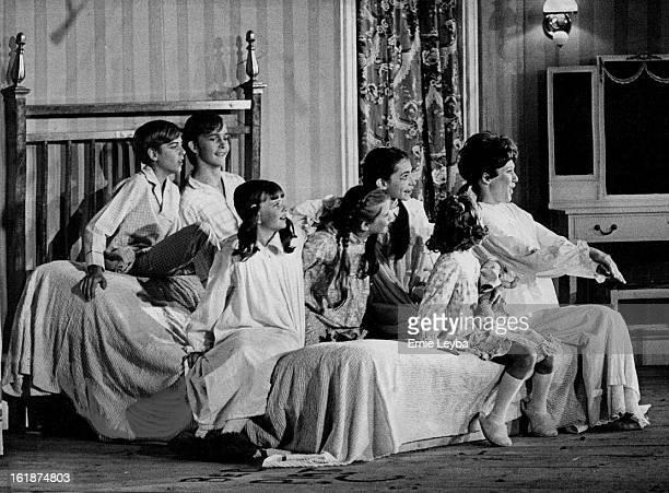 JUL 10 1972 JUL 11 1972 Maria PostulantTurnedGoverness Comforts Von Trap Children Scene is during storm at Von Trapp estate where the new governess...