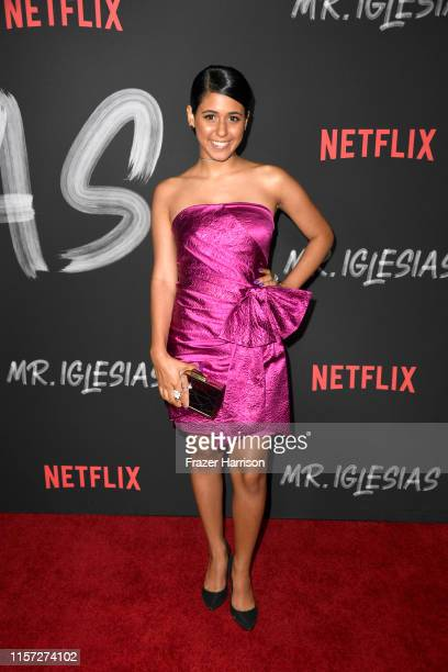 Maria Quezada attends Season 1 Premiere Of Netflix's Mr Iglesias at Regal Cinemas LA Live on June 20 2019 in Los Angeles California