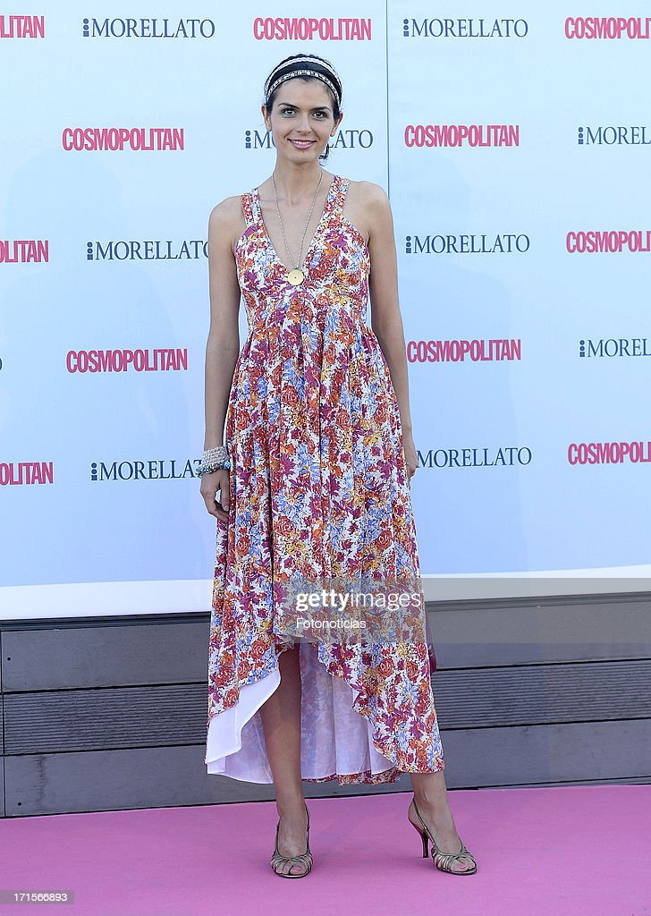 Maria Reyes attends Cosmpolitan Fragrance Awards 2013 at the Circulo de Bellas Artes on June 26, 2013 in Madrid, Spain.