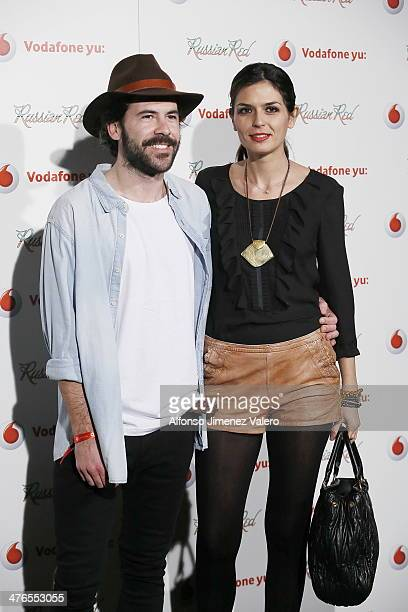 Maria Reyes attends Russian Red Concert in Madrid on March 3 2014 in Madrid Spain