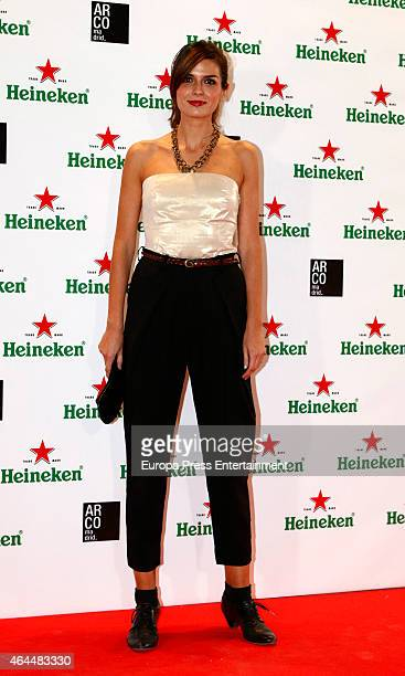 Maria Reyes attends the Heineken party at ARCO 2015 the International Contemporary Art Fair at Ifema on February 25 2015 in Madrid Spain