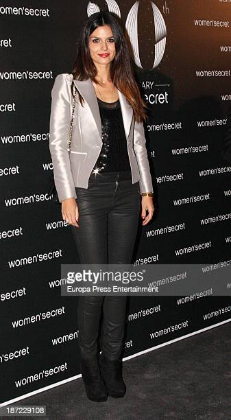 Maria Reyes attends Women'secret New Collection presentation 20th anniversary on November 6 2013 in Madrid Spain